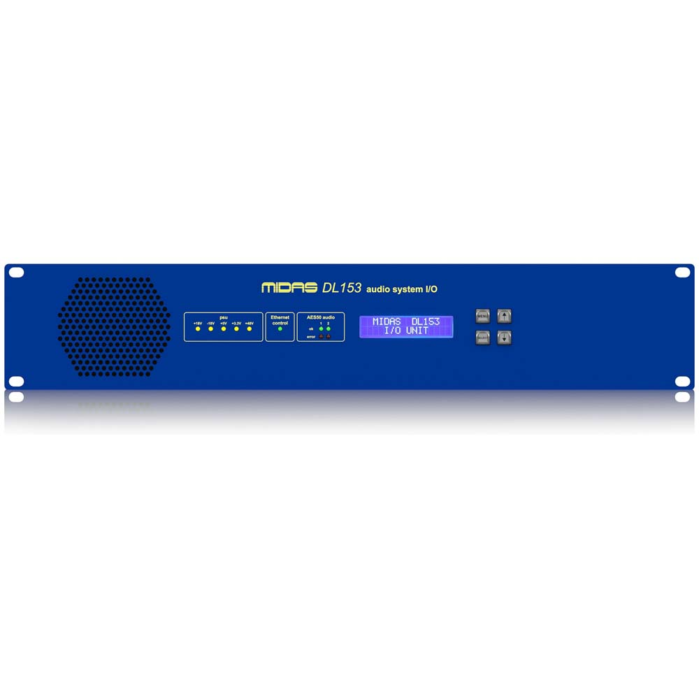 DL153 16 Input, 8 Output Stage Box with 16 MIDAS Microphone