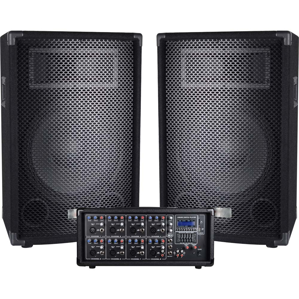 Pa 820 Complete Pa System Proaudio