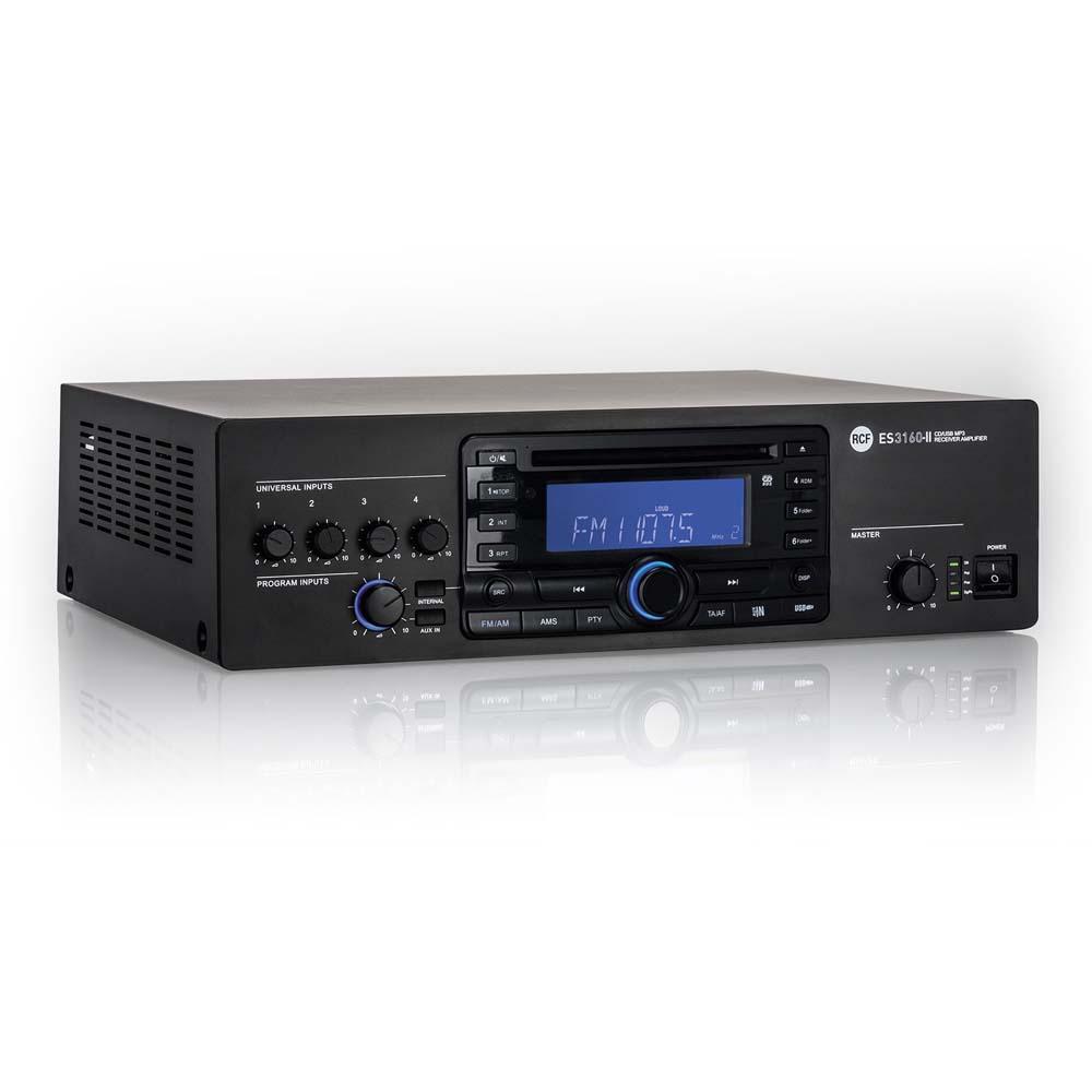 es 3160 ii digital receiver 160w amplifier proaudio. Black Bedroom Furniture Sets. Home Design Ideas