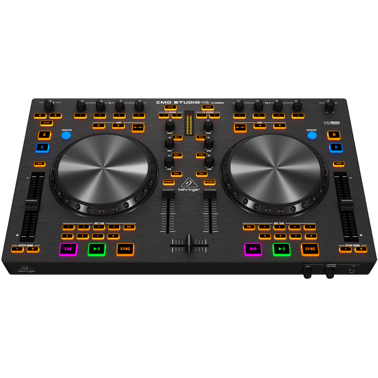 Behringer_CMD_Studio_4a_DJ_MIDI_controller_interface_front