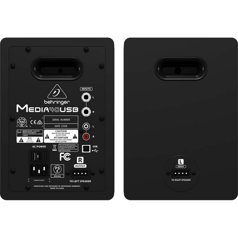 Media 40usb Monitor Speakers Proaudio